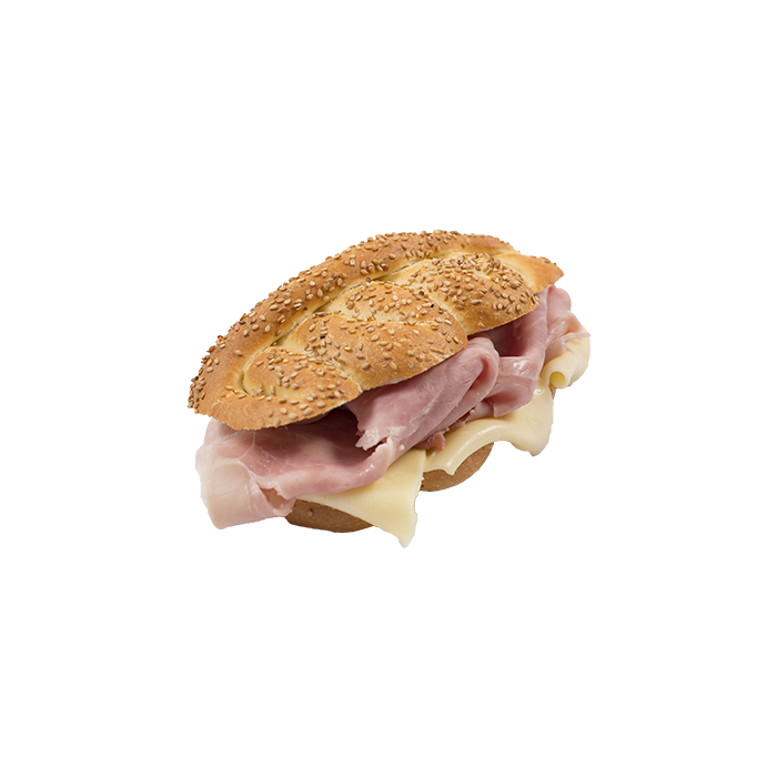 Cooked Ham And Provola Cheese