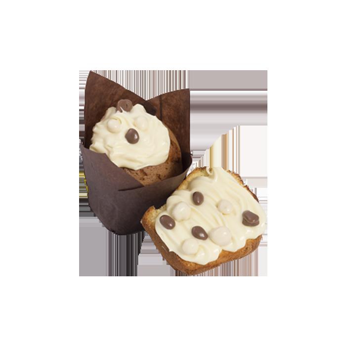 Muffin Crema Cioccolato Bianco