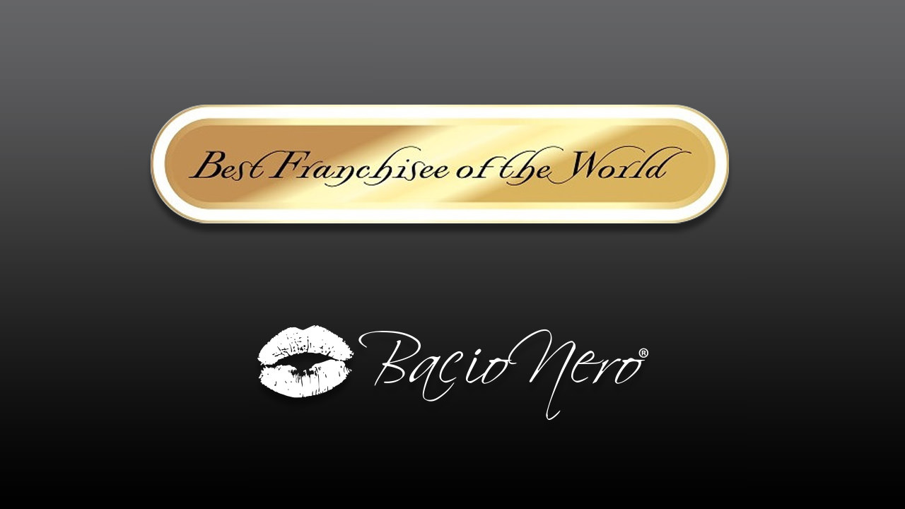 Bacio Nero Récompensé Au Best Franchisee Of The World !