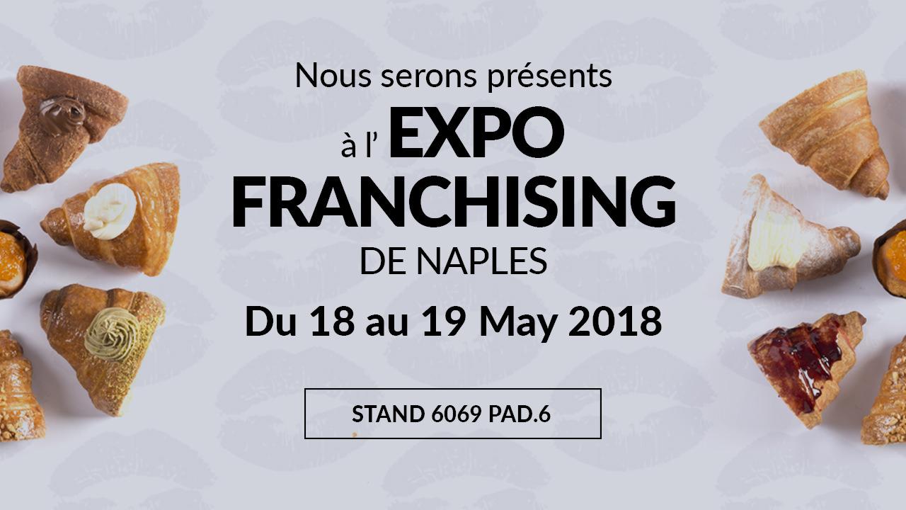 Bacio Nero Présente La Marque à L'EXPO FRANCHISING NAPLES 2018