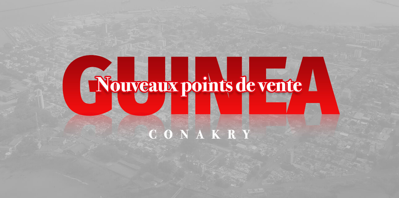Nouveau Point De Vente En Guinée