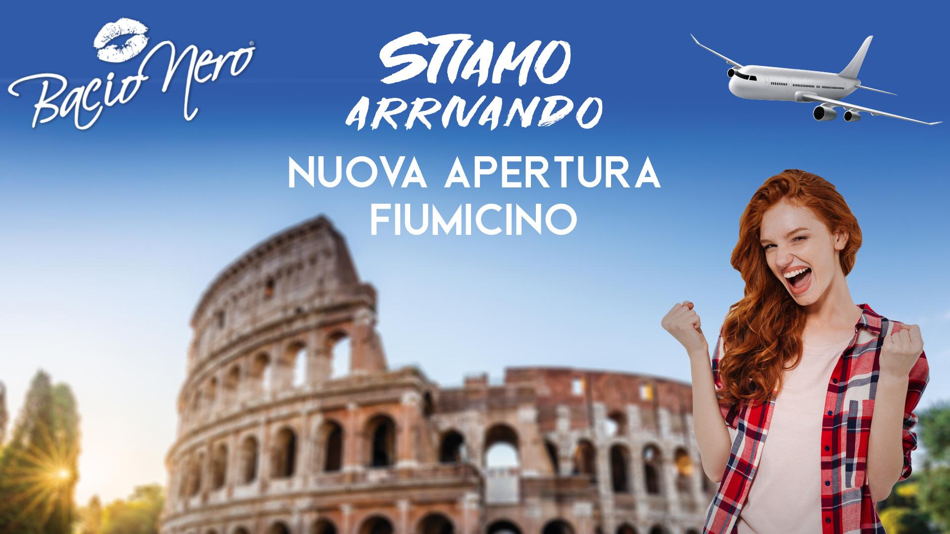 Nuova Apertura A Fiumicino!